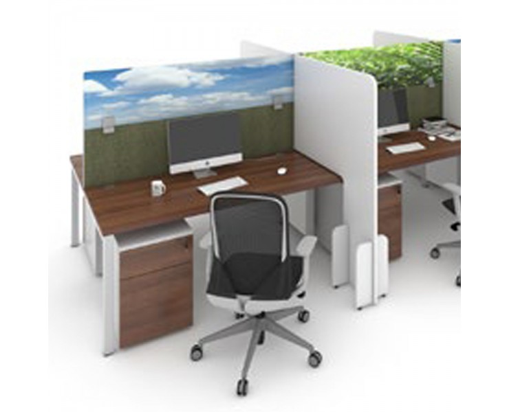 OFFICE DESK SCREEN PROTECTION TOPPERS PRINTED