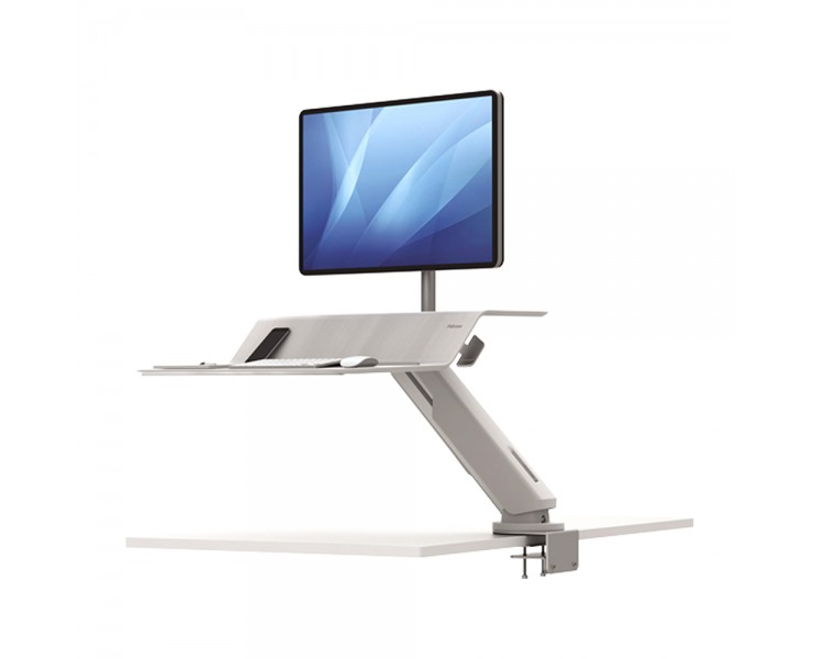 FELLOWES LOTUS RT SIT STAND DESK CONVERTER WORKSTATION