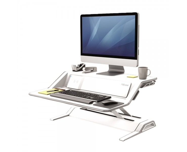FELLOWES ERGONOMIC LOTUS DX SIT STAND WORKSTATION