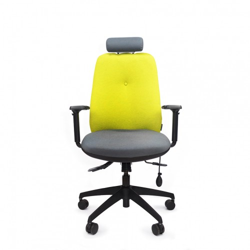 ERGOCUBE GP 110 ERGONOMIC OFFICE CHAIR WITH HEADREST