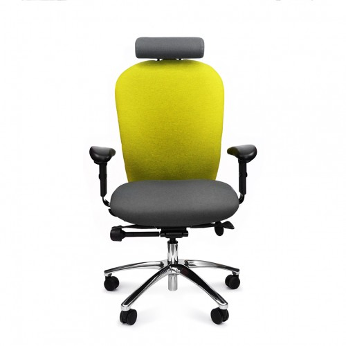 ERGOCUBE GOOD POSTURE 260 HEAVY DUTY ERGONOMIC OFFICE CHAIR WITH HEADREST