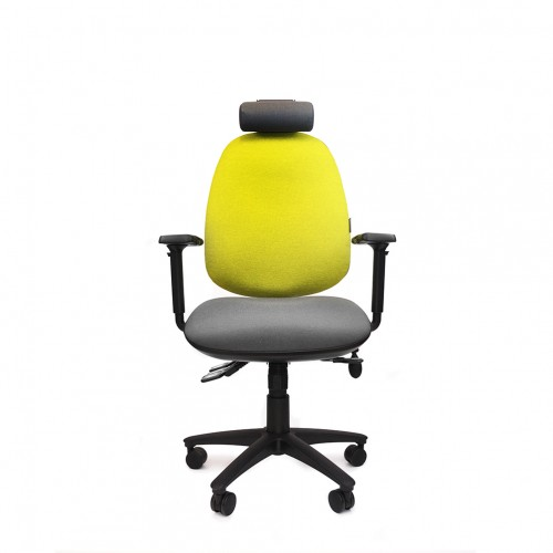 ERGOCUBE GOOD POSTURE 600 ERGONOMIC OFFICE CHAIR WITH HEADREST