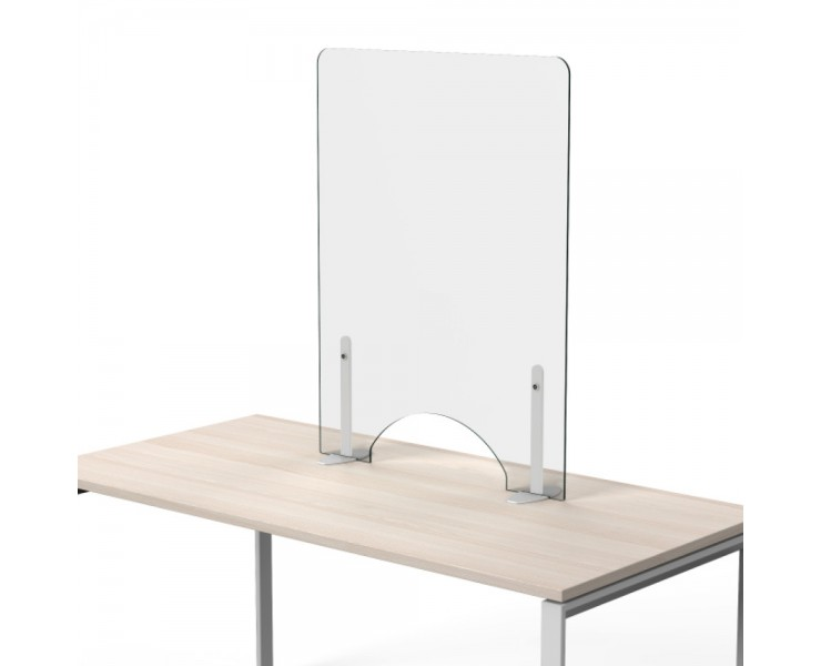 SELF SUPPORTING COVID-19 DESK AND RECEPTION SCREENS